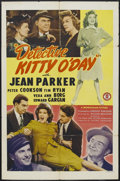 """Movie Posters:Mystery, Detective Kitty O'Day (Monogram, 1944). One Sheet (27"""" X 41"""").Comedy. Starring Jean Parker, Peter Cookson, Tim Ryan and Edw..."""