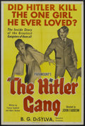 "Movie Posters:War, The Hitler Gang (Paramount, 1944). One Sheet (27"" X 41"") Style B.War. Starring Robert ""Bobby"" Watson, Martin Kosleck, Victo..."