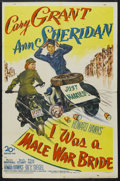 """Movie Posters:Comedy, I Was a Male War Bride (20th Century Fox, 1949). One Sheet (27"""" X41""""). War Comedy. Starring Cary Grant, Ann Sheridan, Randy..."""
