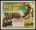 """Movie Posters:Western, Jesse James at Bay (Republic, R-1955). Title Lobby Card (11"""" X 14""""). Western. Starring Roy Rogers, George 'Gabby' Hayes, Sal..."""