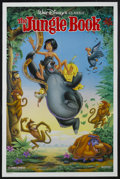 "Movie Posters:Animated, The Jungle Book (Buena Vista, R-1990s). One Sheet (27"" X 41"")Double Sided. Animated. Starring the voices of Bruce Reitherma..."