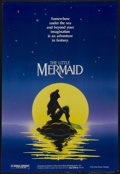 "Movie Posters:Animated, The Little Mermaid (Buena Vista, 1989). One Sheet (27"" X 41"") Double Sided. Animated Musical. Starring the voices of Jodi Be..."