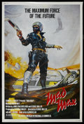 """Movie Posters:Science Fiction, Mad Max (Roadshow Film Distributors, 1979). Poster (40"""" X 60""""). Action. Starring Mel Gibson, Joanne Samuel, Hugh Keays-Byrne..."""