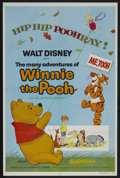 "Movie Posters:Animated, The Many Adventures of Winnie the Pooh (Buena Vista, R-1977). OneSheet (27"" X 41""). Animated Comedy. Starring the voices of..."