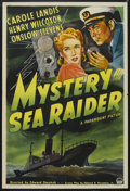 "Movie Posters:Drama, Mystery Sea Raider (Paramount, 1940). One Sheet (27"" X 41""). Drama.Starring Carole Landis, Henry Wilcoxon, Onslow Stevens, ..."