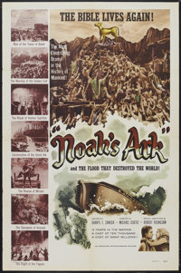 "Noah's Ark (Associated Artists-Dominant, R-1957). One Sheet (27"" X 41""). Biblical Drama. Starring Dolores Cost..."