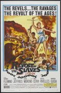 """Movie Posters:Adventure, The Revolt of the Slaves (United Artists, 1961). One Sheet (27"""" X41""""). Adventure. Starring Rhonda Fleming, Lang Jeffries, D..."""