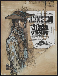 "The Shooting (Continental Distributing Inc., R-1979). Czech Poster (22.75"" X 30.25""). Western. Starring Will H..."