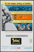 "Movie Posters:Adventure, Topkapi (United Artists, 1964). One Sheet (27"" X 41""). CrimeComedy. Starring Melina Mercouri, Peter Ustinov, Maximilian Sch..."