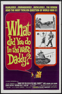 """What Did You Do in the War, Daddy? (United Artists, 1966). One Sheet (27"""" X 41""""). War Comedy. Starring James C..."""