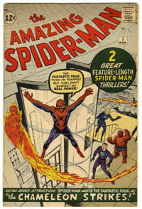 The Amazing Spider-Man #1 (Marvel, 1963) Condition: VG+