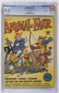 Golden Age (1938-1955):Funny Animal, Animal Fair #6 Crowley Copy pedigree (Fawcett, 1946) CGC NM- 9.2Cream to off-white pages....