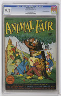 Golden Age (1938-1955):Funny Animal, Animal Fair #7 Crowley Copy/File Copy (Fawcett, 1946) CGC NM- 9.2Cream to off-white pages....