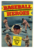 Golden Age (1938-1955):Non-Fiction, Baseball Heroes #nn (Fawcett, 1952) Condition: FN+....