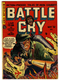 Golden Age (1938-1955):War, Battle Cry #1 and 4 Group (Stanmor, 1952) Condition: FN+....