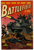 Golden Age (1938-1955):War, Battlefield #7 (Atlas, 1953) Condition: VF....