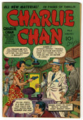 "Golden Age (1938-1955):Crime, Charlie Chan #1 Davis Crippen (""D"" Copy) pedigree (Crestwood/Headline, 1948) Condition: VG...."