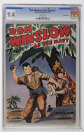 Golden Age (1938-1955):War, Don Winslow of the Navy #22 Crowley Copy pedigree (Fawcett, 1945)CGC NM 9.4 White pages....