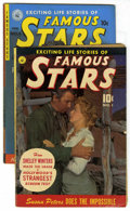 Golden Age (1938-1955):Miscellaneous, Famous Stars #1 and 6 Group (Ziff-Davis, 1950)....
