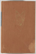 Books:Natural History Books & Prints, J. Frank Dobie. The Voice of the Coyote. Boston: Little, Brown and Company, 1949. First edition. Octavo. 386 pag...