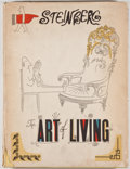 Books:Art & Architecture, Saul Steinberg. The Art of Living. New York: Harper & Brothers, 1949. First edition. Quarto. Fully illustrated. Publ...