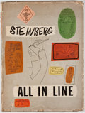 Books:Art & Architecture, Saul Steinberg. All in Line. New York: Duell, Sloan & Pearce, [1945]. First edition. Quarto. Fully illustrated. Publ...