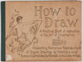 Books:Art & Architecture, Leon Barritt. How to Draw: A Practical Book of Instruction in the Art of Illustration. New York: Harper & Brothe...