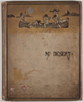 Books:Art & Architecture, J. A. Mitchell. the Summer School of Philosophy at Mt Desert. New York: Henry Holt, 1881. First edition. Quarto. 24 ...