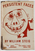 Books:Art & Architecture, William Steig. Persistent Faces. [New York]: Duell, Sloan & Pearce, [1945]. First edition. Octavo. Fully illustrated...