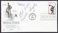 Autographs:Celebrities, Pancho Gonzalez First Day Cover Signed....