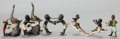 Sculpture, FIVE AUSTRIAN COLD-PAINTED BRONZE FIGURES: BOYS AT PLAY . Circa 1900 . 2-1/2 inches high (6.4 cm) (tallest)... (Total: 5 Items)