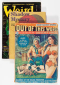 Pulps:Science Fiction, Assorted Science Fiction Pulps Group (Various, 1947-73).... (Total:3 Items)