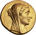 Ancients:Greek, Ancients: PTOLEMAIC KINGDOM. Berenice II, wife of Ptolemy III (ca. 244/3-221 BC). AV mnaieion or octadrachm (27.63 gm). ...