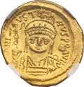 Ancients:Byzantine, Ancients: Justin II (AD 565-578). AV solidus (4.47 gm). ...