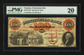 Obsoletes By State:Virginia, Charlottesville, VA- The Monticello Bank $100 Sept. 6, 1860 BC25-40 G30a. ...