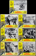 """Movie Posters:Exploitation, Angel Unchained (American International, 1970). Lobby Cards (7)(11"""" X 14""""). Exploitation.. ... (Total: 7 Items)"""