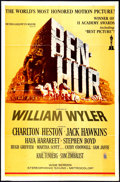 "Movie Posters:Academy Award Winners, Ben-Hur (MGM, R-1969). One Sheet (27"" X 41""). Academy Awards Style.Academy Award Winners.. ..."