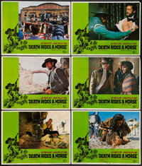 "Death Rides a Horse (United Artists, 1968). Lobby Cards (10) (11"" X 14""). Western. ... (Total: 10 Items)"