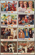 "Movie Posters:Elvis Presley, Elvis Presley Lot (United Artists, MGM, 1966-1968). Lobby Cards (8)(11"" X 14""). Elvis Presley.. ... (Total: 8 Items)"