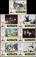 "Movie Posters:Action, Fists of Fury (National General, 1973). Lobby Cards (7) (11"" X14""). Action.. ... (Total: 7 Items)"
