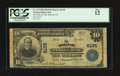 National Bank Notes:Pennsylvania, Bolivar, PA - $10 1902 Plain Back Fr. 634 The Bolivar NB Ch. #6135. ...