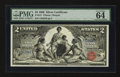 Large Size:Silver Certificates, Fr. 247 $2 1896 Silver Certificate PMG Choice Uncirculated 64 EPQ.. ...