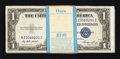 Small Size:Silver Certificates, Fr. 1614 $1 1935E Silver Certificates. Original Pack of 100. Uncirculated or Better.. ... (Total: 100 notes)