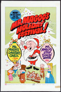 """Movie Posters:Animation, Mr. Magoo's Holiday Festival & Other Lot (Maron Films, 1970). One Sheet (24.75"""" X 37.5"""") & Photo (8"""" X 10""""). Animated.. ... (Total: 2 Items)"""