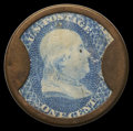 Encased Postage: , HB-44 EP-5 Reed-BC01 1¢ Bailey & Co. Extremely Fine.. ...