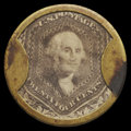Encased Postage: , HB-72 EP-162 Reed-BU24 24¢ F. Buhl & Co. Extremely Fine.. ...