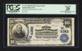 National Bank Notes:Oklahoma, Weatherford, OK - $10 1902 Plain Back Fr. 633 The First NB Ch. # (W)5352. ...