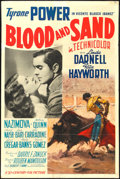 "Movie Posters:Drama, Blood and Sand (20th Century Fox, 1941). One Sheet (27"" X 41"")Style A. Drama.. ..."