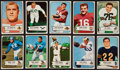 Football Cards:Sets, 1954 Bowman Football Complete Set (128). ...