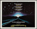 """Movie Posters:Science Fiction, Close Encounters of the Third Kind (Columbia, 1977). Half Sheet(22"""" X 28""""). Science Fiction.. ..."""